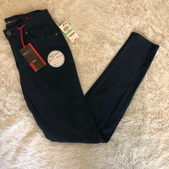 Style & Co Denim - NWT Style & Co Slate Blue Low Rise Jeggings Size 8